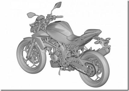 ER2n Ninja 250 RR Mono naked version 8