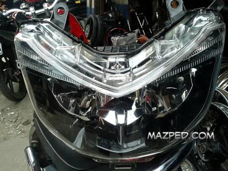 headlamp LED Honda PCX 150 lokal atau Honda Vario 150 3