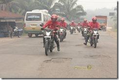 Honda CB150R streetfire ekspedisi nusantara 2014 tembus 148 km per jam003