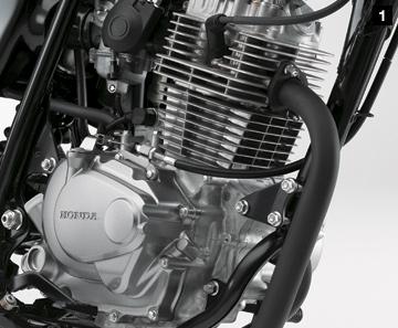 Honda cb223 engine