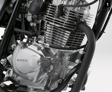 Honda cb223 engine