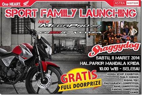 Honda Sport family Launching Yogyakarta