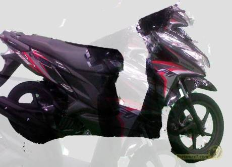honda vario techno 125 facelift 2014 black