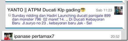 launching ducati 899