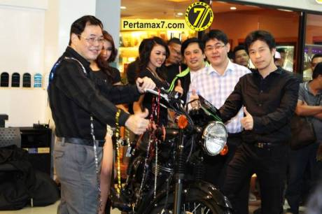Launching Kawasaki ESTRELLA 250 RR mono Yogyakarta  22