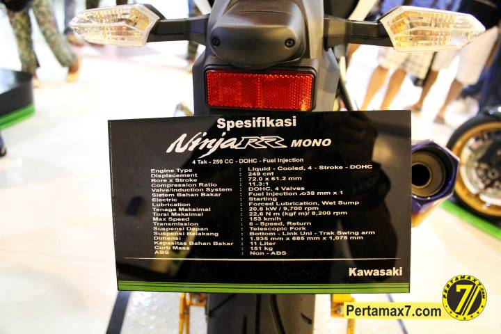 Launching Kawasaki Ninja 250 RR mono Yogyakarta 85