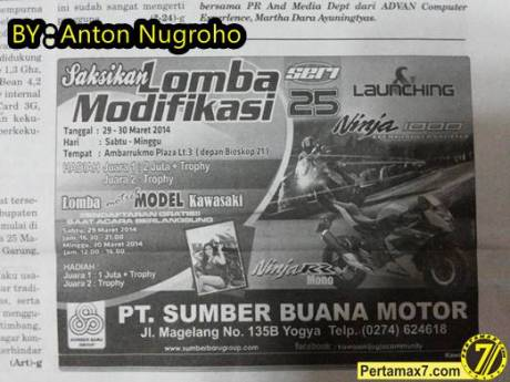 launching Ninja 250 RR MONO dan Ninja 1000 Yogyakarta DIY 4