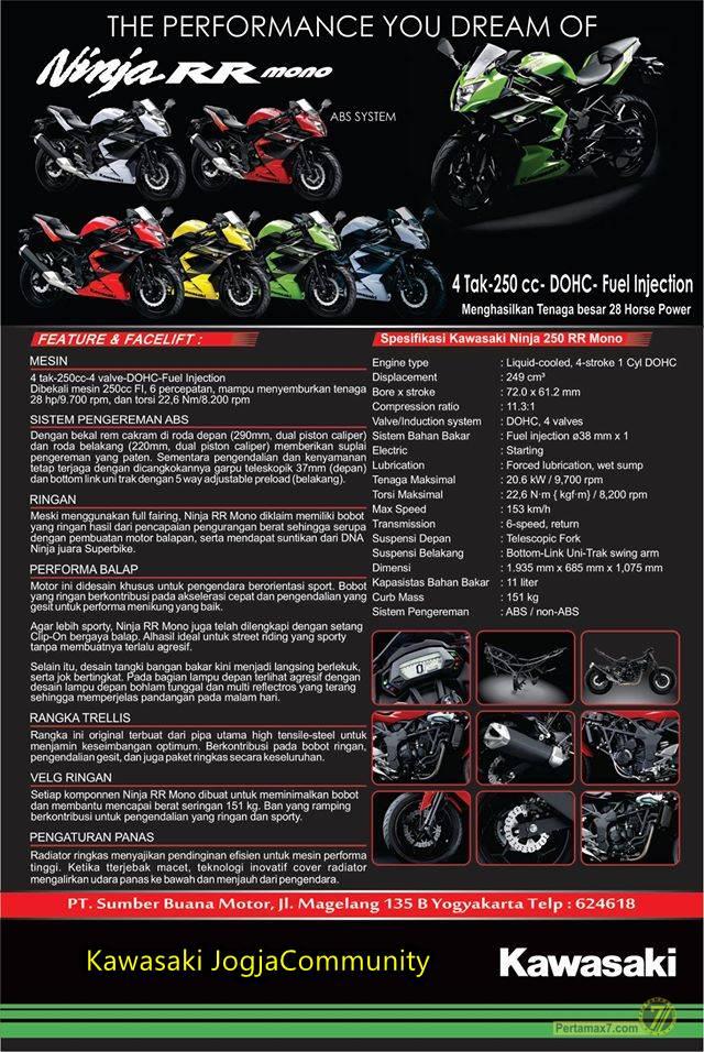 launching Ninja 250 RR MONO dan Ninja 1000 Yogyakarta DIY 5