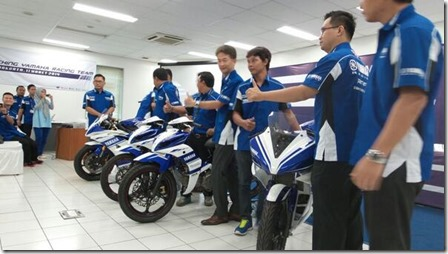 Launching Yamaha Racing Team 2014 4