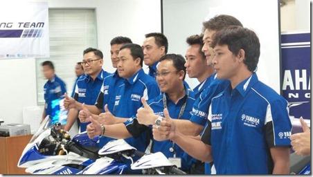 Launching Yamaha Racing Team 2014 5