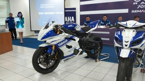 Launching Yamaha Racing Team 2014, Yamaha YZF-R6, yamaha YZF-R15 dan