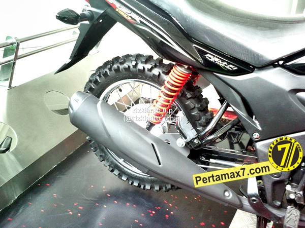 Modifikasi Honda Verza 150 ala Trail oleh Astra Motor