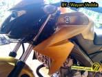 Modifikasi Yamaha New Vixion titanium Gold jadi Full Gold 003