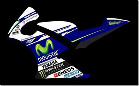 movistar yamaha motogp design