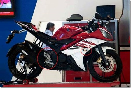 new Yamaha R15 India