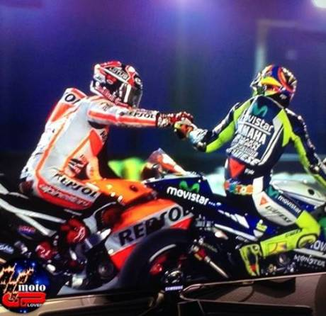 rossi and marquez