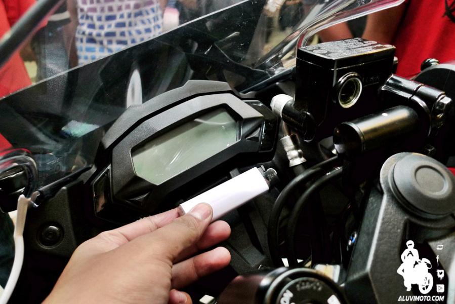 speedometer kawasaki ninja 250 RR mono