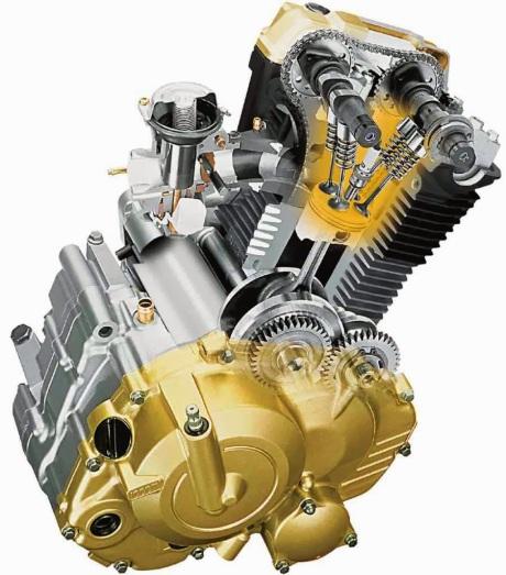 SUZUKI SATRIA FU150-Engine