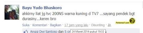 TVS kawasaki bajaj pulsar 200ns indonesia 2