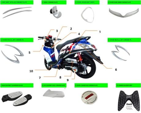 Yamaha  Fino FI Sporty Special Edition