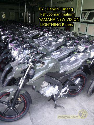 Yamaha New V-ixion menjadi kendaraan Dinas TNI 1