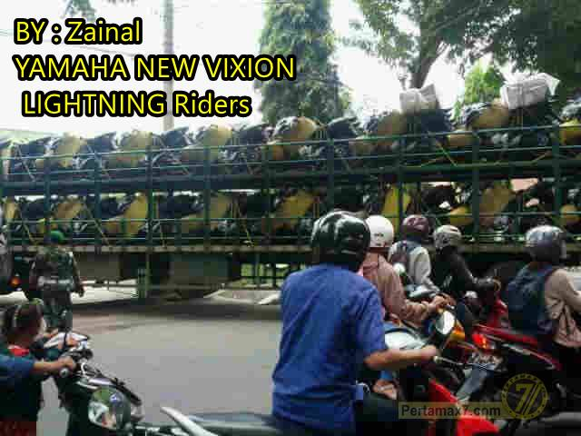 Yamaha New V-ixion menjadi kendaraan Dinas TNI  3