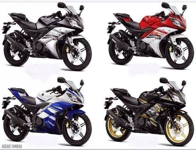 yamaha YZF-R15 colour updated 2014