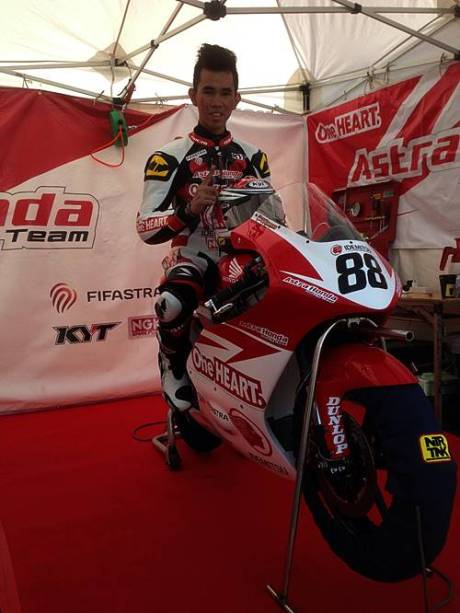 Astra Honda Racing Team All Japan Championship Moto3 1