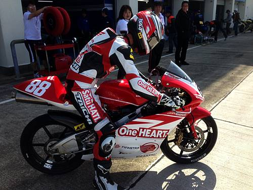 Astra Honda Racing Team All Japan Championship Moto3 2