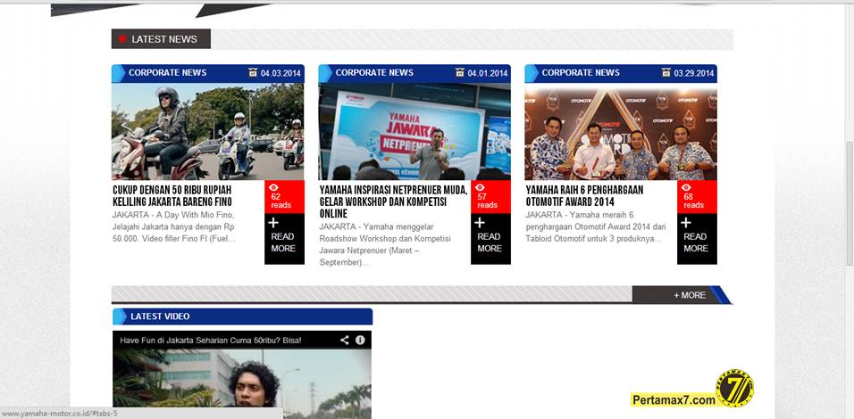 berita terbaru yamaha indonesia