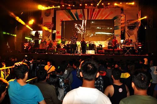Entertainment di Yamaha Motor Show Semarang