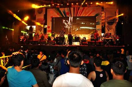 Entertainment di Yamaha Motor Show Semarang