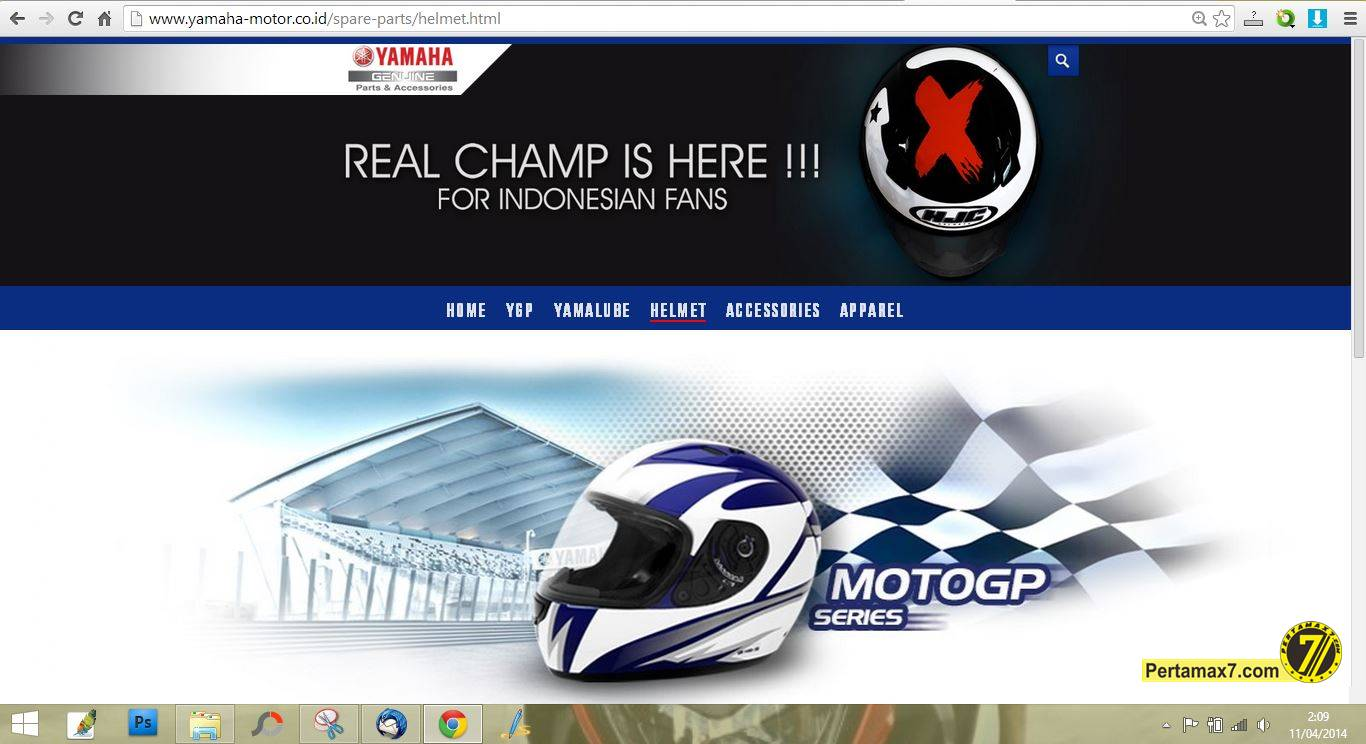 helm HJC Lorenzo untuk 1500 pembeli pertama Yamaha R15 Indonesia