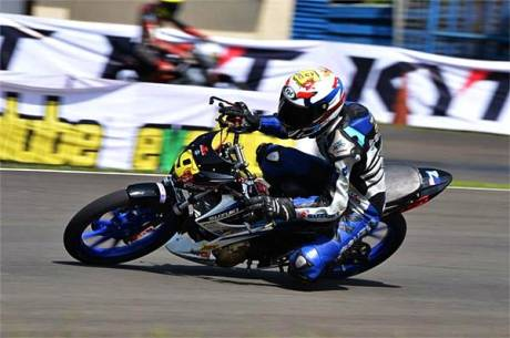 Indoprix 150 suzuki Satria F Vs Yamaha New V-ixion1