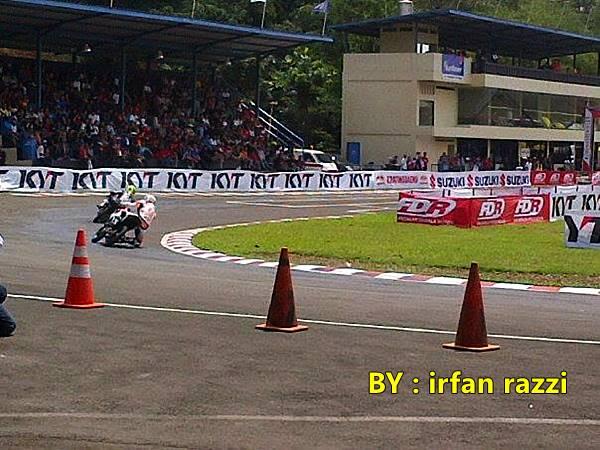 Indoprix Sport 150 CC Sentul Karting satria juara 1 2, New Vixion juara 3 1