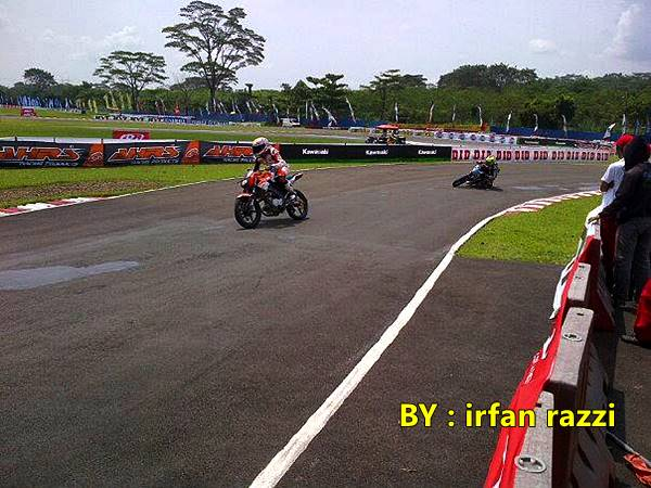 Indoprix Sport 150 CC Sentul Karting satria juara 1 2, New Vixion juara 3 3