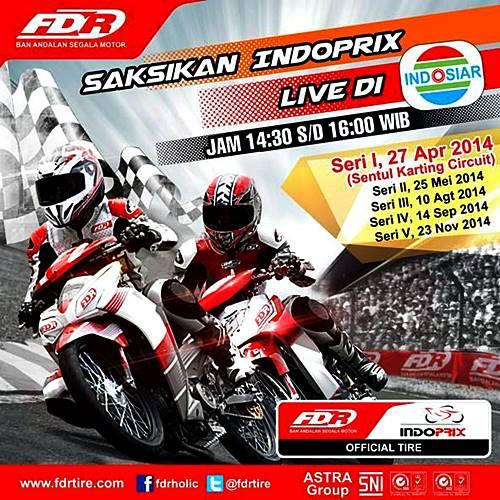 Jadwal Indoprix live Indosiar 2