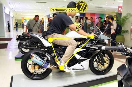 Launching Kawasaki Ninja 250 RR mono Yogyakarta 150