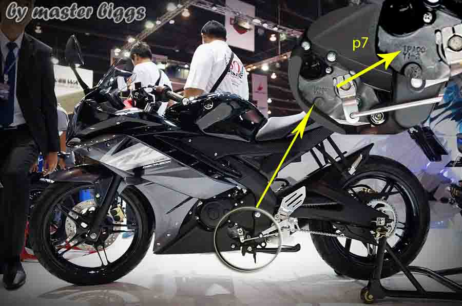 power yamaha yzf r15 sama dengan yamaha new vixion sebesar. Black Bedroom Furniture Sets. Home Design Ideas