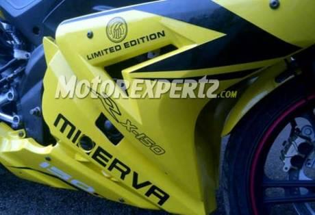 minerva RX 150 kuning