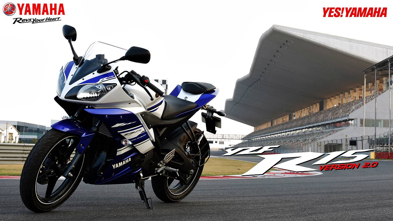 wallpaper yamaha R15 V2.0 Minor Model Change 2014 4