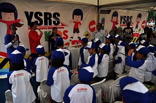 Yamaha Safety Riding Science for Kids di Yamaha Motor Show Semarang