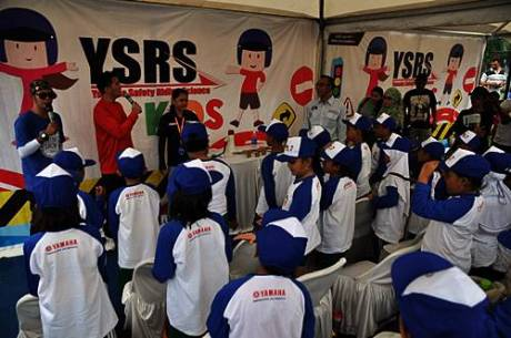Yamaha Safety Riding Science for Kids di Yamaha Motor Show Semarang