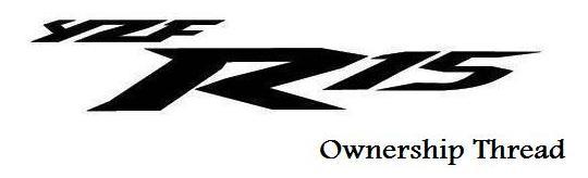 yamaha YZF-R15 logo