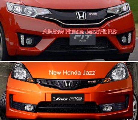 all new Honda Jazz 2014 vs new honda Jazz