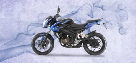 Bajaj Pulsar 200NS fuel Injection blue