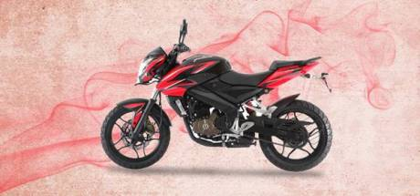 Bajaj Pulsar 200NS fuel Injection red