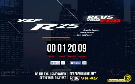 countdown indent online yamaha YZf-R25