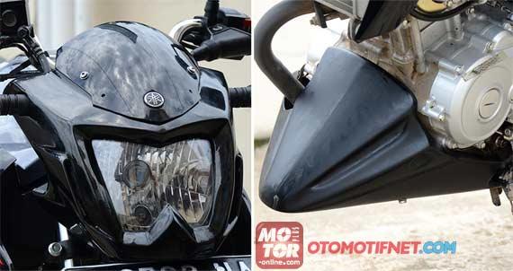 cover headlamp yamaha new Vixion