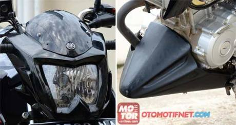 cover headlamp yamaha new Vixion